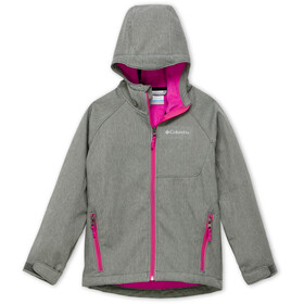 Columbia Cascade Ridge Chaqueta Softshell Jóvenes, charcoal heather